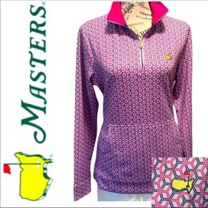 The Masters Official Ladies Quarter Zip Pullover